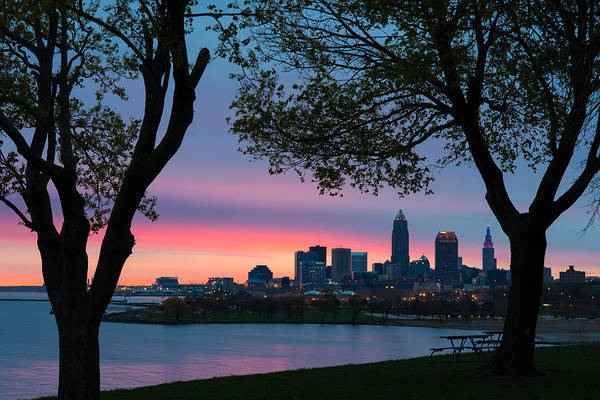 Photograph - Cleveland At Dawn by Clint Buhler