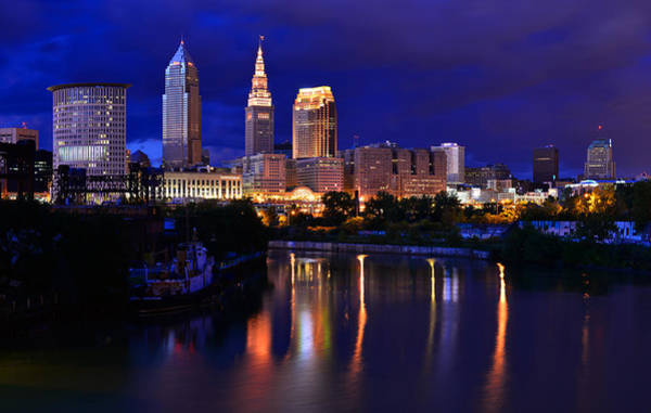 Photograph - Cleveland At The River's Bend by Clint Buhler