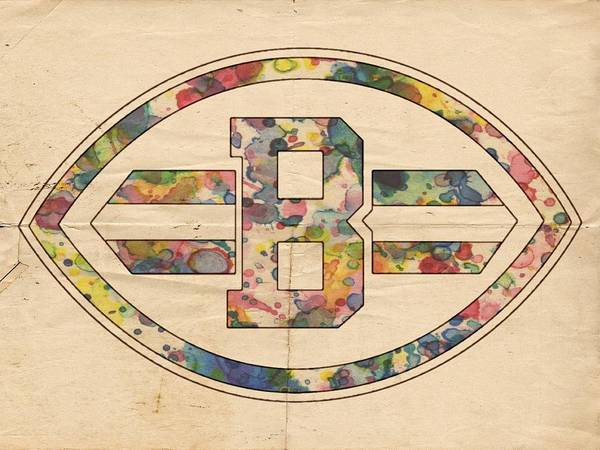 Painting - Cleveland Browns Logo Art by Florian Rodarte