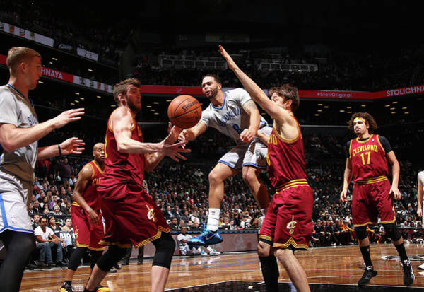 Nba Photograph - Cleveland Cavaliers V Brooklyn Nets by Nba Photos