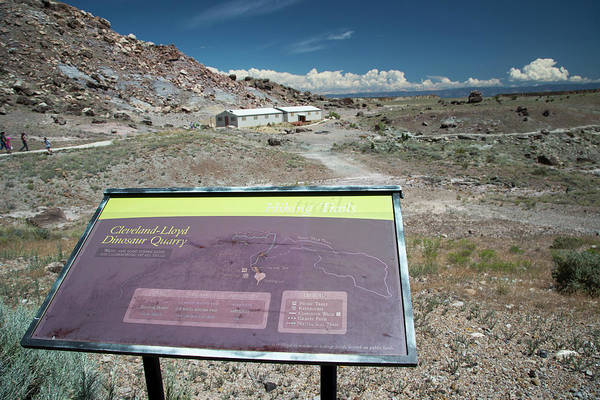 Deposit Photograph - Cleveland-lloyd Dinosaur Quarry by Jim West