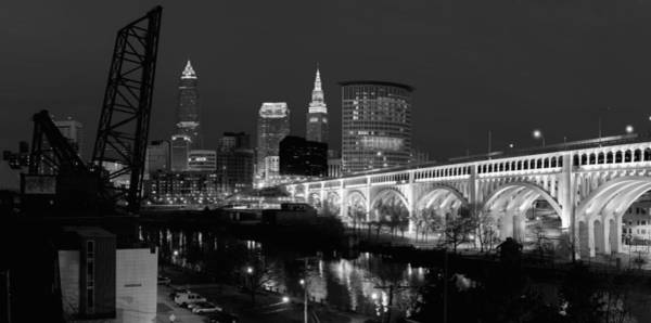 Photograph - Cleveland Panorama  by Clint Buhler