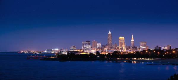 Photograph - Cleveland Skyline Dusk by John Magyar Photography