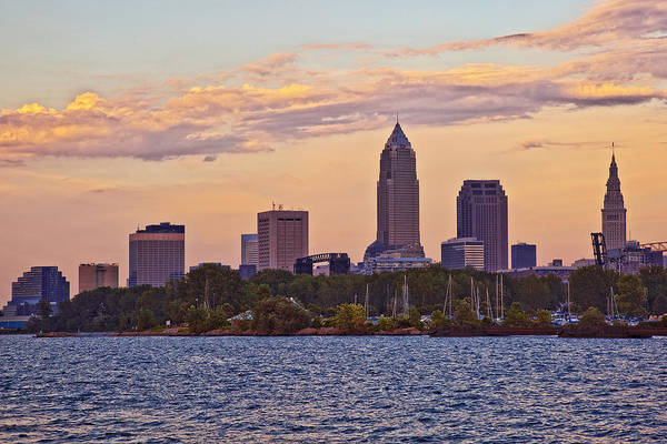 Wall Art - Photograph - Cleveland Sunset by Marcia Colelli