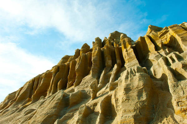 Ventura Photograph - Cliff Face Between Fillmore by Panoramic Images