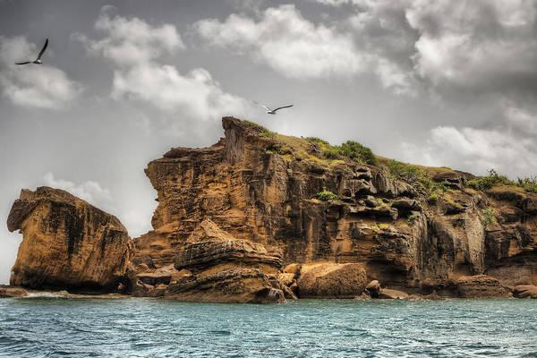 Shirleys Bay Photograph - Cliff In Antigua by Pier Giorgio Mariani