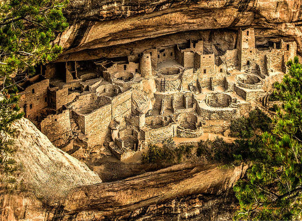 Wall Art - Photograph - Cliff Palace by Keith Hutchings