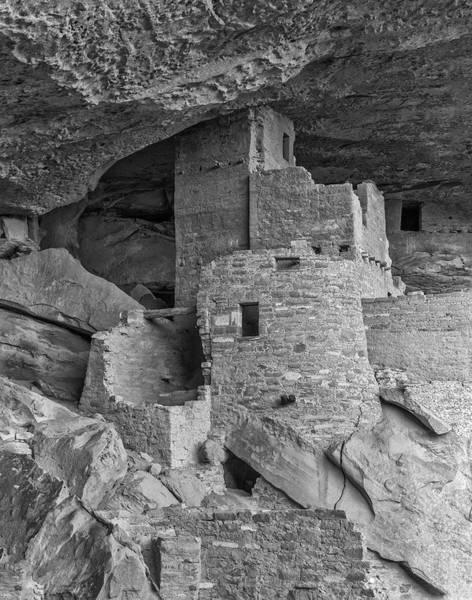 Anasazi Wall Art - Photograph - Cliff Palace, Mesa Verde, Colorado, Usa by John Ford