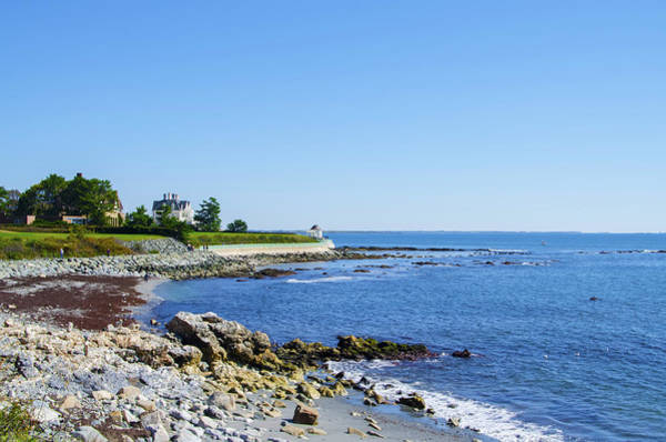Photograph - Cliff Walk - New Port - Rhode Island by Bill Cannon