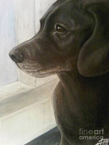 Painting - Clifford by Ana Marusich-Zanor