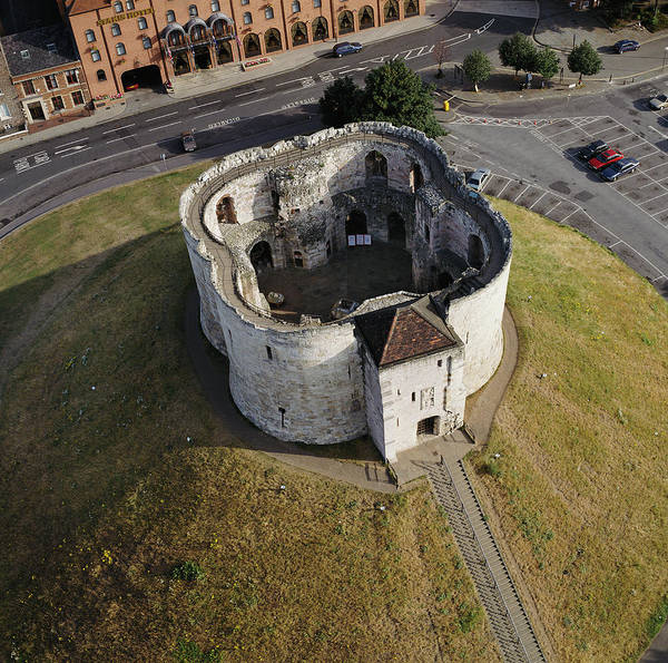 Wall Art - Photograph - Clifford's Tower by Skyscan/science Photo Library