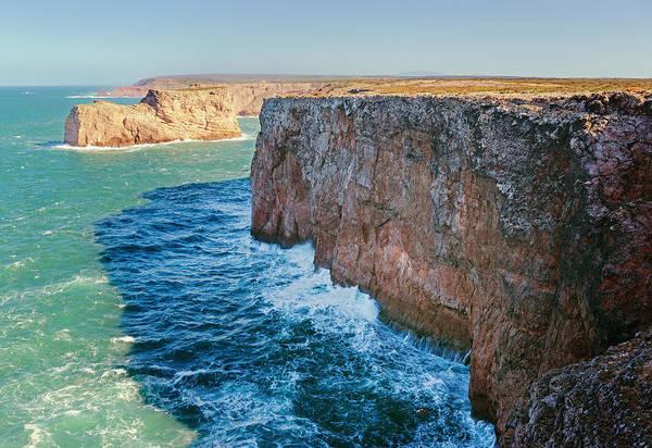 Sagre Wall Art - Photograph - Cliffs Along The Coast by Ben Welsh / Design Pics