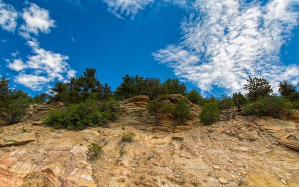 Photograph - Cliffs And Layers At Dakota Ridge by John M Bailey