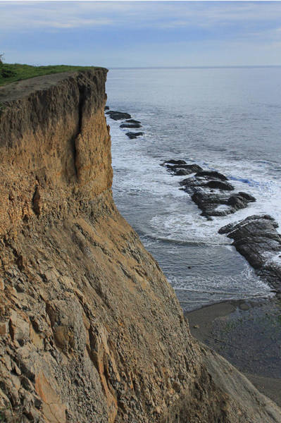 Photograph - D3a6138-cliffs At Bolinas  by Ed  Cooper Photography