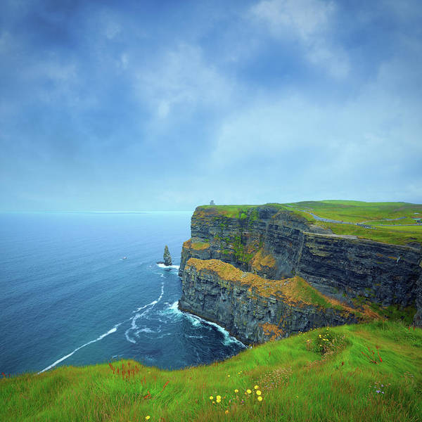 Moher Photograph - Cliffs Of Moher In Ireland by Mammuth
