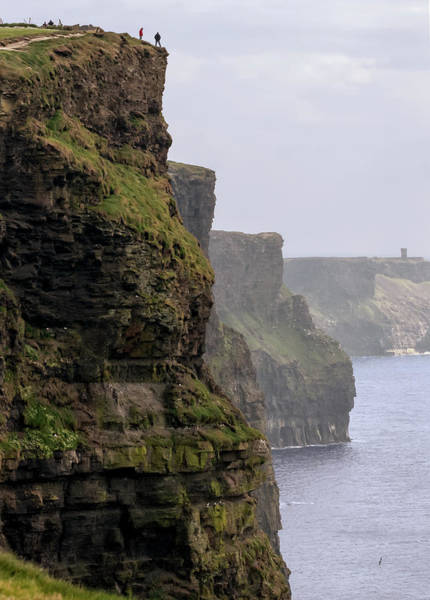 Moher Photograph - Cliffs Of Moher, Ireland by Peter Stasiewicz