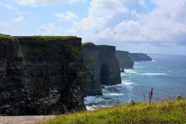Photograph - Cliffs Of Moher by Keith Stokes