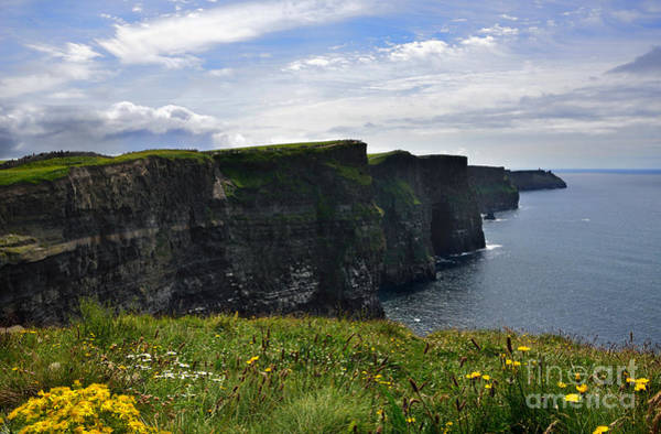 Moher Photograph - Cliffs Of Moher Looking South by RicardMN Photography
