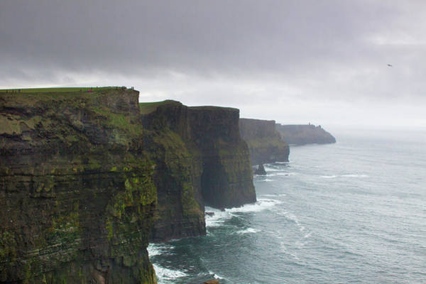 Clare Photograph - Cliffs Of Moher by Michelle O'kane