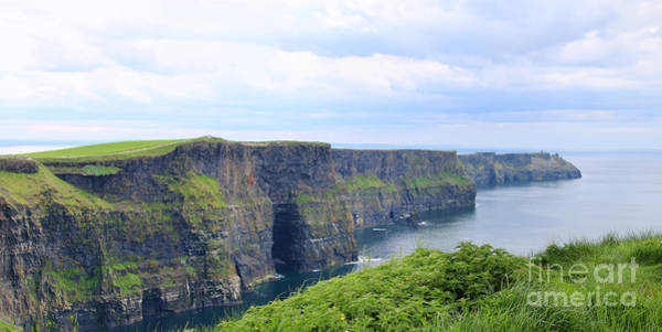 Moher Photograph - Cliffs Of Moher Panorama 3 by Jack Schultz