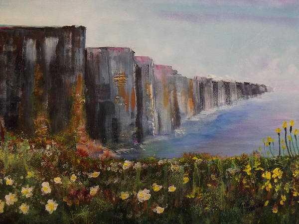 Wall Art - Painting - Cliffs Of Moher by Rich Mason