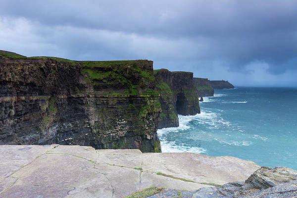 Moher Photograph - Cliffs Of Moher by Sasar