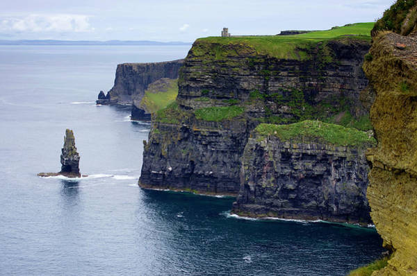 Moher Photograph - Cliffs Of Moher by Sebastian Condrea