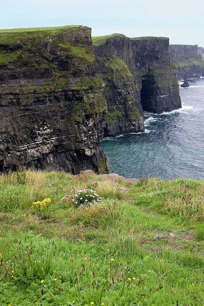 Moher Photograph - Cliffs Of Moher by Sheila Terry/science Photo Library