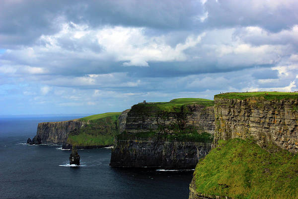 Moher Photograph - Cliffs Of Moher by Tagliatella Style