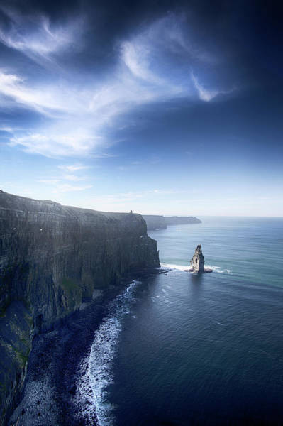 Moher Photograph - Cliffs Of Moher by Victor Walsh Photography
