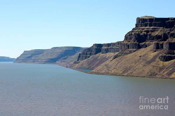 Photograph - Cliffs Of Wallula Gap by Carol Groenen