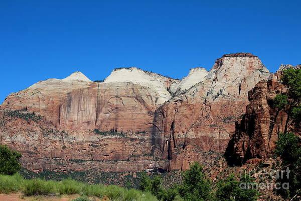 Photograph - Cliffs Of Zion by Jemmy Archer