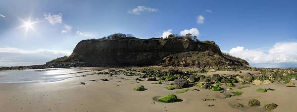 Jason Day Photograph - Cliffs On Beach by S0ulsurfing - Jason Swain