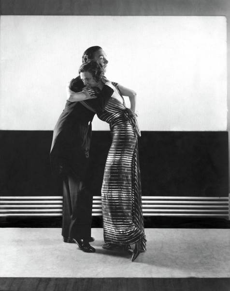 Clifton Webb And Irene Castle Dancing Art Print by Edward Steichen
