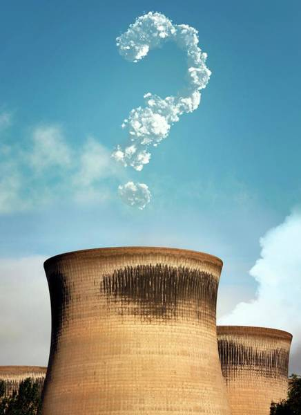Question Photograph - Climate Change Scepticism by Tim Vernon / Science Photo Library