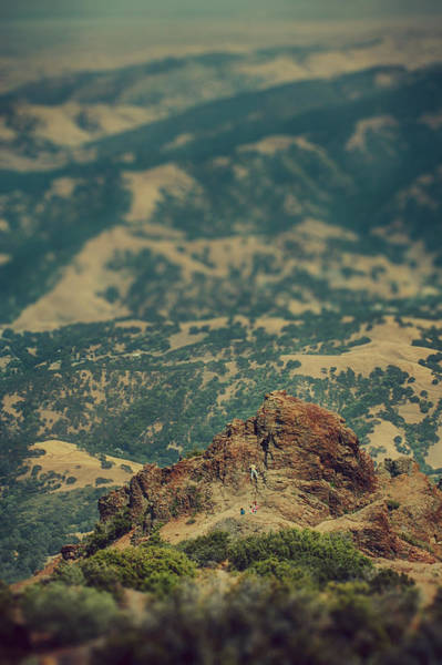 Mt. Diablo Wall Art - Photograph - Climb by Laurie Search