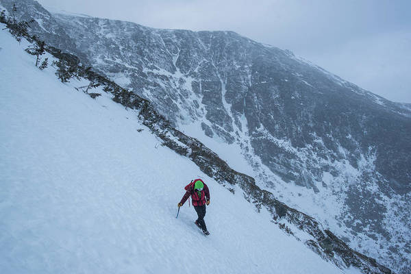 Wall Art - Photograph - Climber Descending Escape Hatch by Joe Klementovich