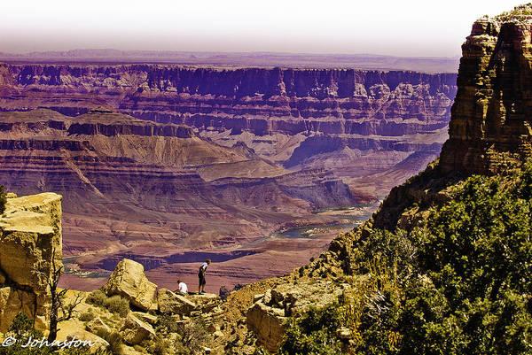Digital Art - Climbing In Grand Canyon by Bob and Nadine Johnston