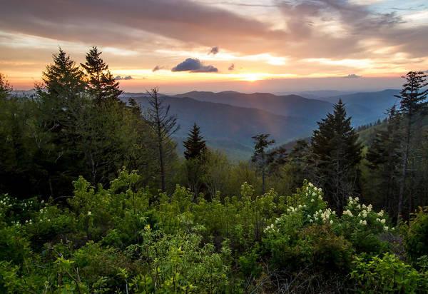 Photograph - Clingman's Dome Sunset by Doug McPherson