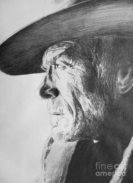 Clint Eastwood Drawing - Clint by Conor O Kane