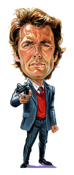 Clint Eastwood As Harry Callahan Art Print