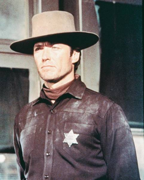 Hanged Photograph - Clint Eastwood In Hang 'em High  by Silver Screen