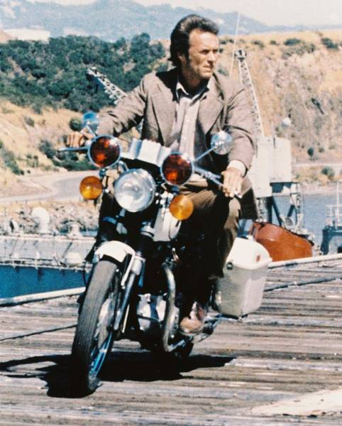 Clint Eastwood Photograph - Clint Eastwood In Magnum Force  by Silver Screen