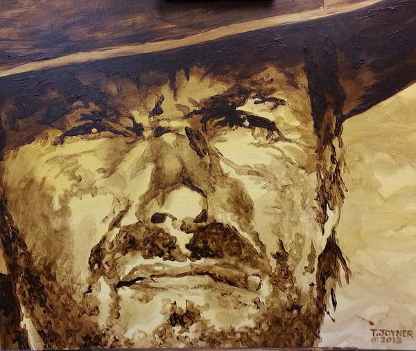 Painting - Clint by Tim  Joyner