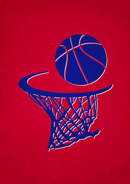 Clipper Wall Art - Photograph - Clippers Team Hoop2 by Joe Hamilton