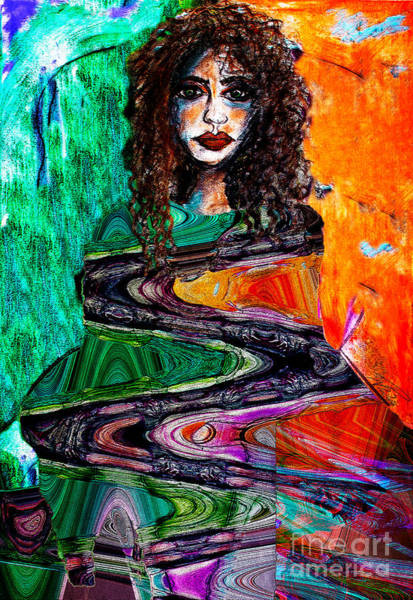Painting - Cloaked In Klimt by Nicole Philippi