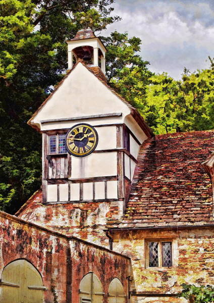 Photograph - Clock Tower - Lacock Abbey by Paul Gulliver