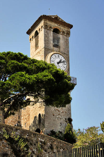 Photograph - Clock Tower - Cannes - France by Christine Till