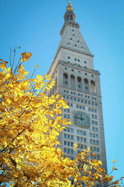 Wall Art - Photograph - Clock Tower, Madison Square Park, New by Julien Mcroberts