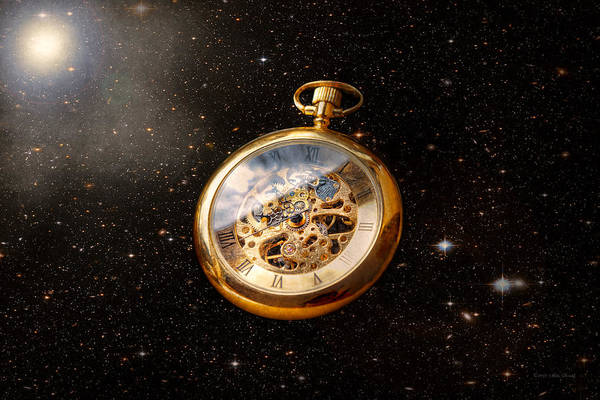 Photograph - Clockmaker - Space Time by Mike Savad